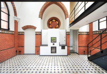 H20B   Umbau einer unter Denkmalschutz stehenden ehemaligen Kapelle zu einem Wohnhaus   14473 Potsdam