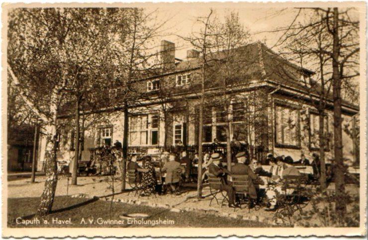 GS18 | Umbau, Instandsetzung und Modernisierung des unter Denkmalschutz stehenden ehemaligen Gästehauses der Deutschen Bank in Caputh | 14548 Schwielowsee / Caputh