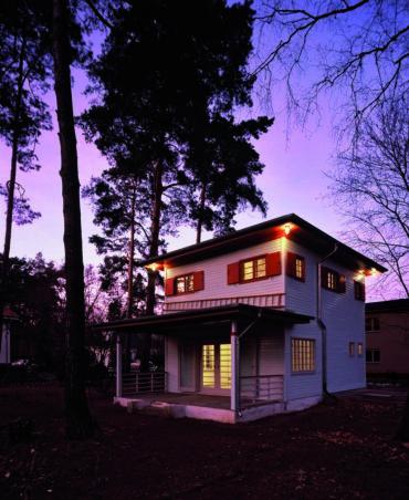GS48 | Umbau, Instandsetzung und Modernisierung eines unter Denkmalschutz stehenden Holzhauses | 14532 Kleinmachnow