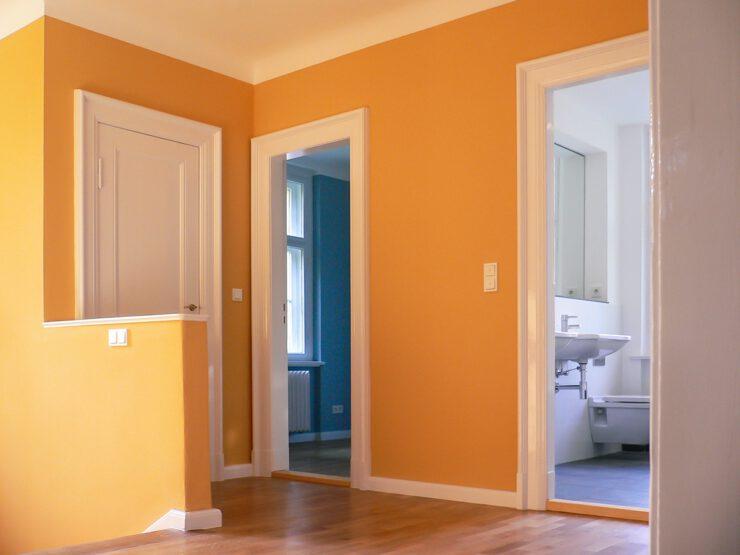 H18 | Umbau, Instandsetzung und Modernisierung einer unter Denkmalschutz stehenden Doppelhaushälfte | 14195 Berlin