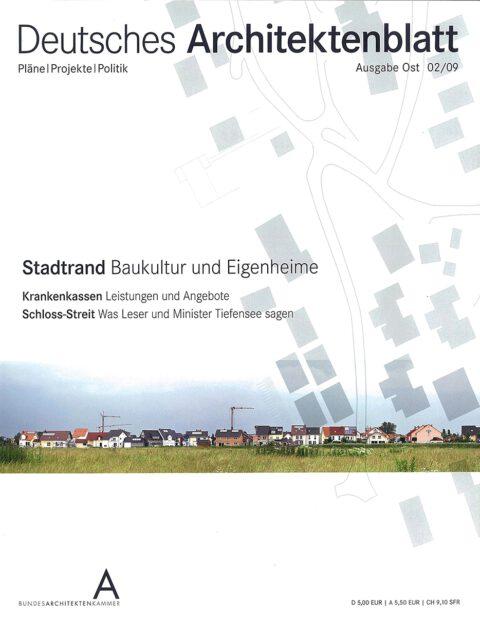 2009_02 | Deutsches Architektenblatt