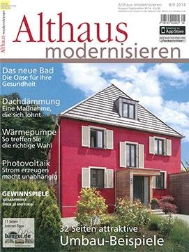 2014_08 | Althaus modernisieren